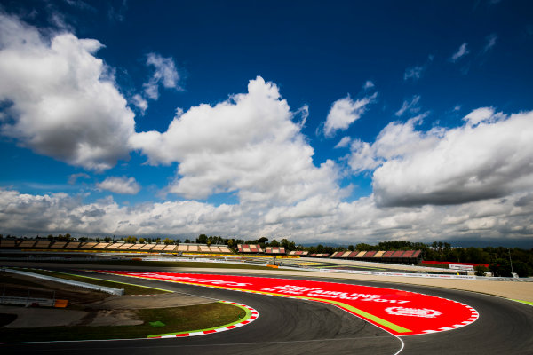 2017 FIA Formula 2 Round 2. Circuit de Catalunya, Barcelona, Spain. Thursday 11 May 2017. A view of the circuit. Photo: Zak Mauger/FIA Formula 2. ref: Digital Image _56I6669
