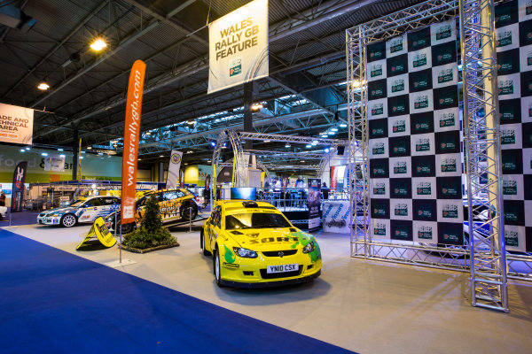 Autosport International Exhibition. National Exhibition Centre, Birmingham, UK. Friday 13 January 2017. Wales Rally GB Feature Photo: Sam Bloxham/LAT Photographic ref: Digital Image _SLB4767