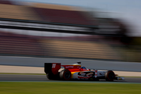 Circuit de Barcelona Catalunya, Barcelona, Spain. Monday 13 March 2017. Ralph Boschung (SUI, Campos Racing). Action.  Photo: Alastair Staley/FIA Formula 2 ref: Digital Image 580A0079