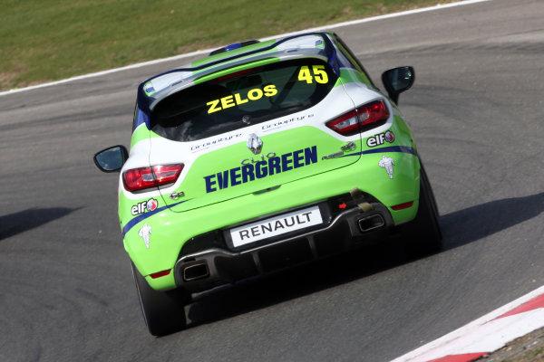 2017 Renault Clio Cup Brands Hatch, 1st-2nd April 2017 Dan Zelos World Copyright. JEP/LAT Images