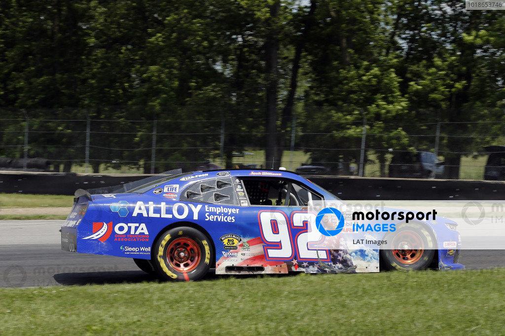 #92: Josh Williams, DGM Racing, Chevrolet Camaro Alloy Employer Services