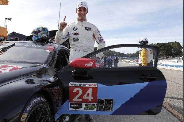 IMSA Pole Award Winner #24 BMW Team RLL BMW M8 GTLM: John Edwards