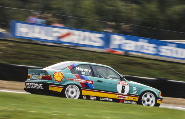 Tim Harvey, M Team Shell Racing with Listerine, BMW 318is.