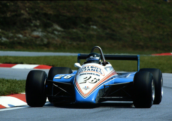 1982 Austrian Grand Prix.Osterreichring, Zeltweg, Austria.13-15 August 1982.Jacques Laffite (Talbot Ligier JS19 Matra), 3rd position.World Copyright - LAT Photographic