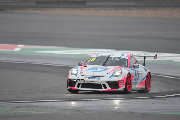 Tanart Sathienthirakul (THA) est cola PTT at Porsche Carrera Cup Asia, Shanghai, China, 13-15 April 2018.