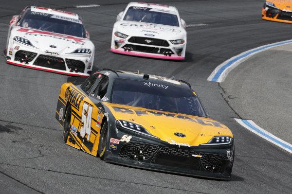 #54: Christopher Bell, Joe Gibbs Racing, Toyota Supra DEWALT, #20: Harrison Burton, Joe Gibbs Racing, Toyota Supra DEX Imaging