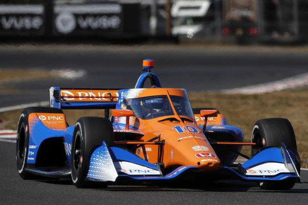 #10: Alex Palou, Chip Ganassi Racing Honda wins the pole