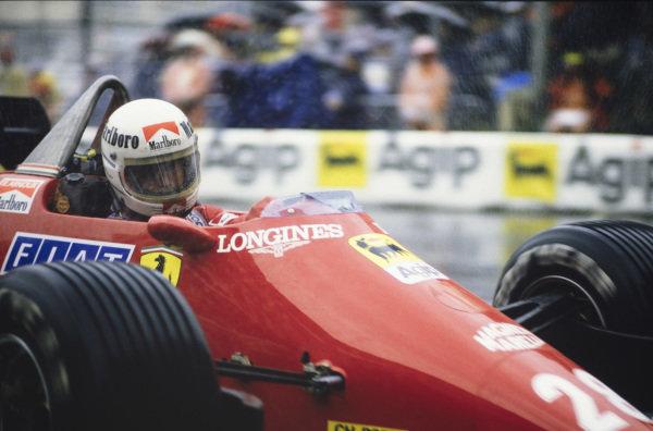 René Arnoux, Ferrari 126C4.