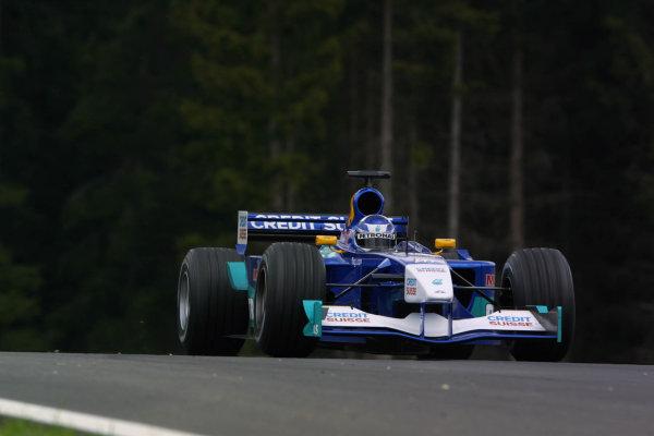 2001 Austrian Grand Prix.A1-Ring, Zeltweg, Austria.11-13 May 2001.Kimi Raikkonen (Sauber C20 Petronas) 4th position.World Copyright - LAT Photographicref: 8 9 MB Digital