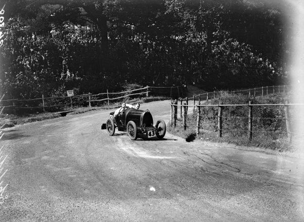 RA Hossell, Bugatti Type 13.
