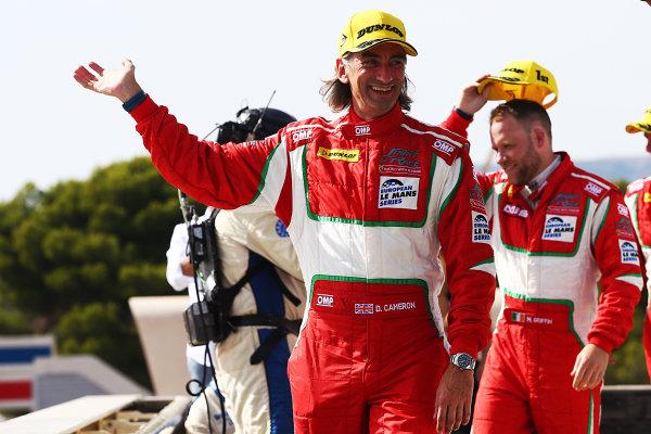 2017 European Le Mans Series, Le Castellet, France. 25th - 27th August 2017. #55 Duncan Cameron (GBR) / Matt Griffin (IRL) / Aaron Scott (GBR) - SPIRIT OF RACE - Ferrari F488 GTE World Copyright: JEP/LAT Images