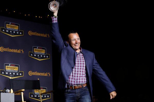 IMSA Continental Tire SportsCar Challenge Series Awards Banquet Road Atlanta, Braselton GA Friday 6 October 2017 Eric Foss World Copyright: Michael L. Levitt LAT Images