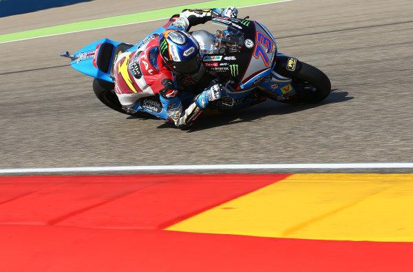 2017 Moto2 Championship - Round 14 Aragon, Spain. Saturday 23 September 2017 Alex Marquez, Marc VDS World Copyright: Gold and Goose / LAT Images ref: Digital Image 694256