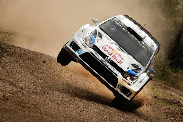Sebastien Ogier (FRA) / Julien Ingrassia (FRA), Volkswagen Polo R WRC. FIA World Rally Championship, Rd5, Rally Argentina, Day One, Cordoba-Villa Carlos Paz, Argentina, 9 May 2014.