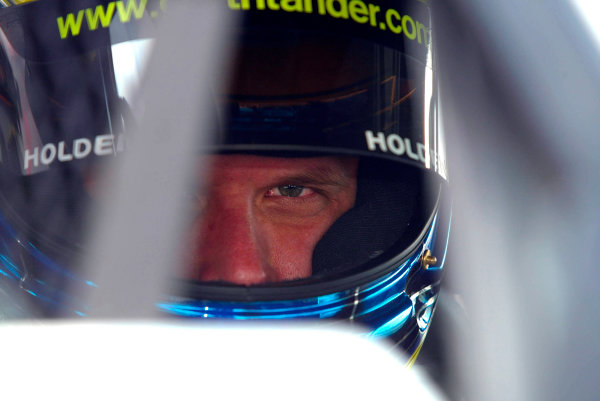 2003 Australian V8 SupercarsOran Park, Sydney, Australia. 17th August 2003.Holden driver Garth Tander in car, Tander finishing 4th in the 300km race today at Oran Park Sydney,Australia. World Copyright: Mark Horsburgh/LAT Photographicref: Digital Image Only
