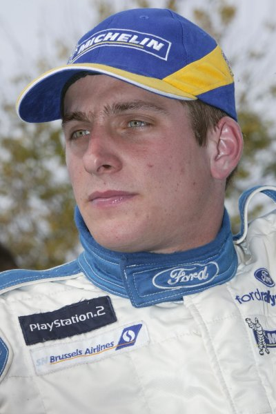 2003 FIA World Rally Champs. Round Five, Argentina,  8th-11th May 2003 Francois Duval, Ford. World Copyright: McKlein/LAT