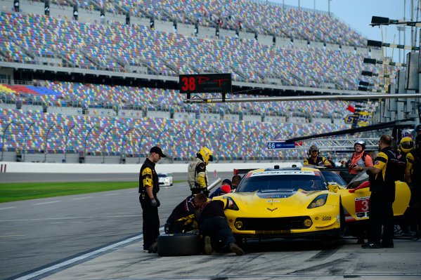 8-10 January,  2016, Daytona Beach, Florida USA 3, Chevrolet, Corvette C7, GTLM, Antonio Garcia, Jan Magnussen, Mike Rockenfeller ©2016, Richard Dole LAT Photo USA