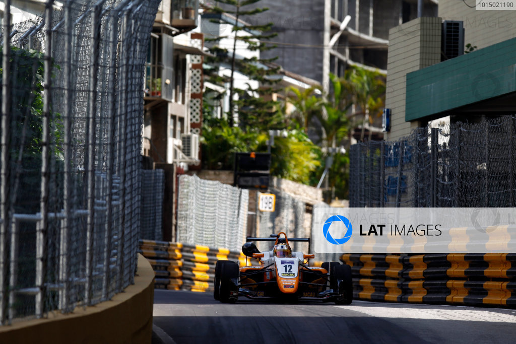 2017 Macau Formula 3 Grand Prix Circuit de Guia, Macau, China Friday 17 November 2017 Ritomo Miyata, TOM'S, Dallara Toyota  World Copyright: Alexander Trienitz/LAT Photographic ref: Digital Image 2017-Macau-GP-AT1-1627