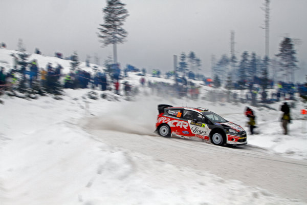 Round 02 - Rally Sweden 09-12 February 2012. Martin Prokop, Ford WRC Action.  Worldwide Copyright: McKlein/LAT