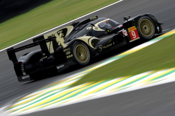 2014 World Endurance Championship, Interlagos, Brazil. 28th - 30th November 2014. Pierre Kaffer / Lucas Auer Lotus Lotus T129 AER.. World Copyright: Ebrey / LAT Photographic.