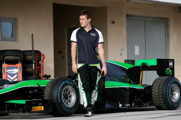 2015 GP2 Test 1 Yas Marina Circuit, Abu Dhabi, United Arab Emirates Wednesday 10 March 2015 Richie Stanaway (AUS, Status GP) Photo: Jed Leicester/GP2 Series Media Service ref: Digital Image _JL14525