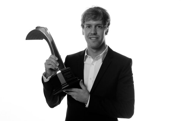 Sunday  Sebastien Vettel, winner of the International Racing Driver award. World Copyright:Andrew Ferraro/  ref: Digital Image _79P2442