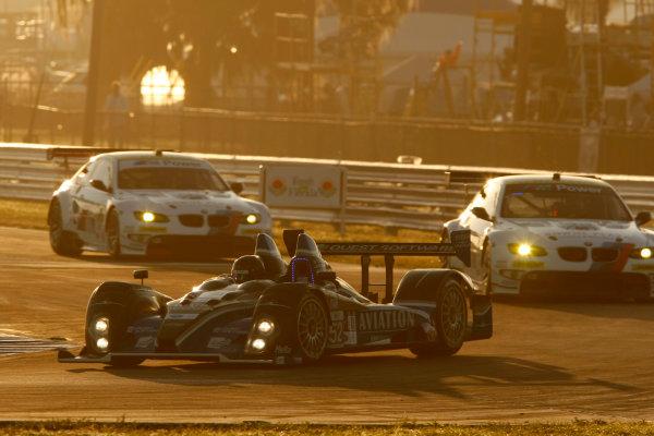 Sebring, Florida, USA. 15th-17th March 2012,Butch Leitzinger/Ken Dobson/Rudy Junco - PR1 Mathiasen Motorsports Oreca FLM09World Copyright: Ebrey/LAT Photographic.