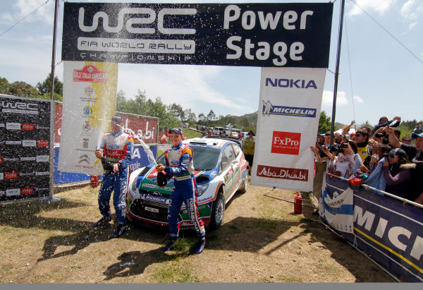 Round 05-Rally Italia Sardegna. 05th-08th May 2011.Mikko Hirvonen, Ford WRC, Portrait.Worldwide Copyright: McKlein/LAT