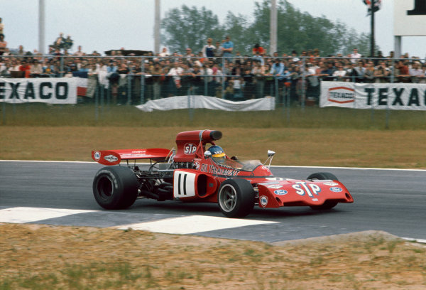 Nivelles-Baulers, Belgium. 2 - 4 June 1972.Ronnie Peterson (March 721X Ford), 9th position, action. World Copyright: LAT Photographic.Ref:  72BEL
