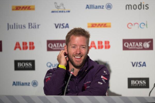Sam Bird (GBR), DS Virgin Racing, DS Virgin DSV-03, in the Friday press conference.