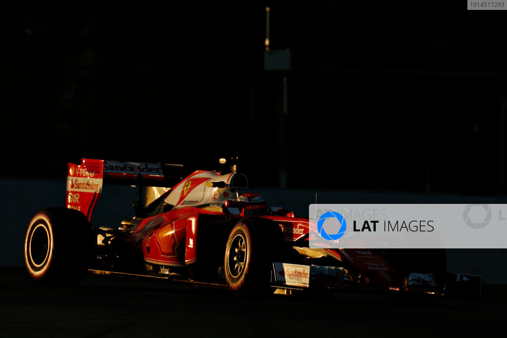 Circuit de Catalunya, Barcelona, Spain Thursday 25 February 2016. Kimi Raikkonen, Ferrari SF16-H. World Copyright: Alastair Staley/LAT Photographic ref: Digital Image _79P5035