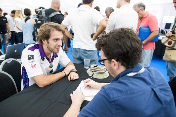 2015/2016 FIA Formula E Championship. Buenos Aires ePrix, Buenos Aires, Argentina. Friday 5 February 2016. Jean-Eric Vergne (FRA), DS Virgin Racing DSV-01. Photo: Zak Mauger/LAT/Formula E ref: Digital Image _L0U9911