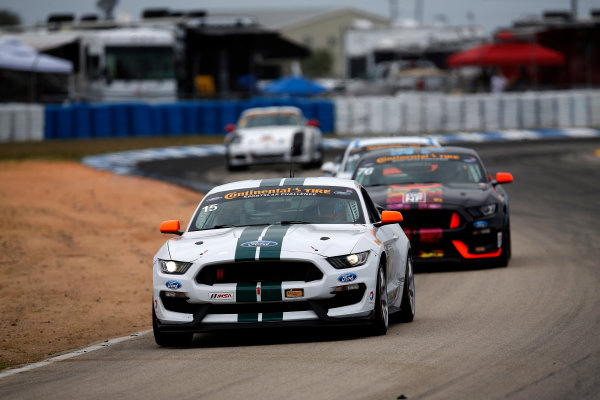 15-18 March, 2016, Sebring, Florida, USA , 15, Ford, Shelby GT350R-C, GS, Scott Maxwell, Billy Johnson ?2016, Michael L. Levitt LAT Photo USA
