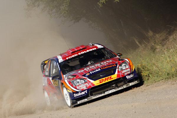 Round 09Rallye Deutschland 19-22/8 2010Francois Duval, Ford WRC, ActionWorldwide Copyright: McKlein/LAT