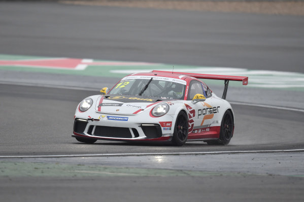 Will Bamber (NZL) Earl Bamber Motorsport at Porsche Carrera Cup Asia, Shanghai, China, 13-15 April 2018.
