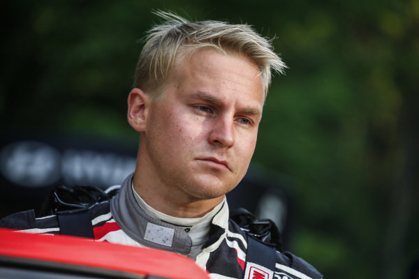 Esapekka Lappi will behoving for a repeat of his 2017 Rally Finland victory