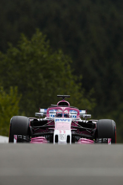 Sergio Perez, Racing Point Force India VJM11.
