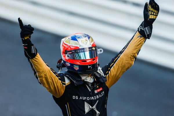 Jean-Eric Vergne (FRA), DS TECHEETAH, DS E-Tense FE19, wins the Monaco ePrix