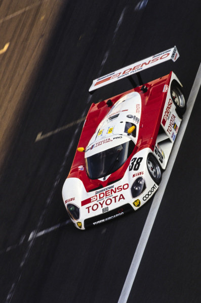 Kaoru Hoshino / Didier Artzet / Keiichi Suzuki, Toyota Team TOM's, Toyota 88C.