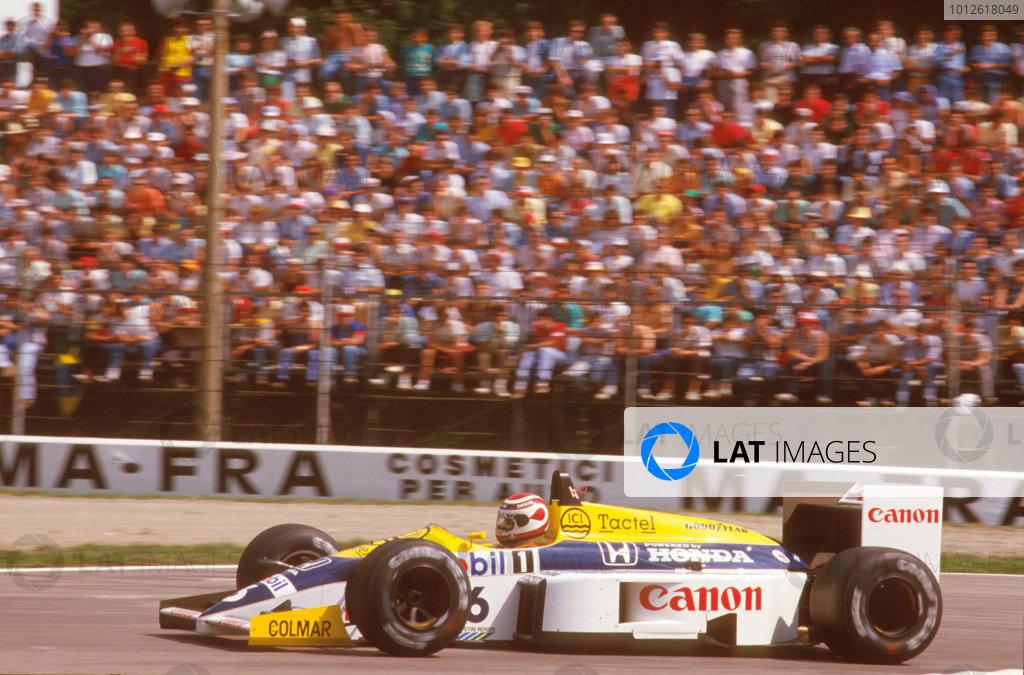 1986 Italian Grand Prix.