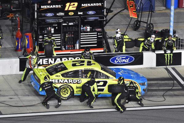 #12: Ryan Blaney, Team Penske, Ford Mustang Menards/Great Lakes Flooring