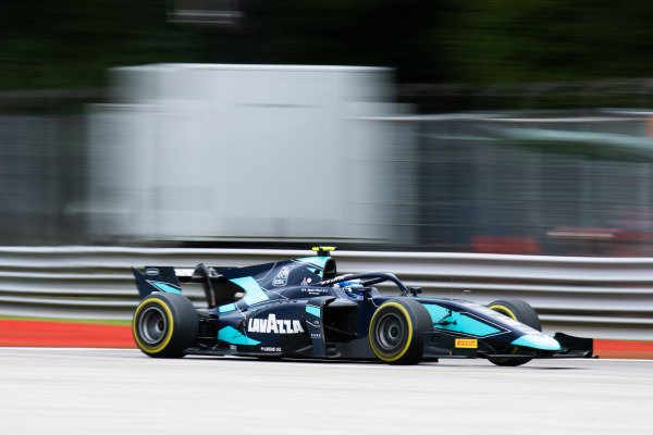 AUTODROMO NAZIONALE MONZA, ITALY - SEPTEMBER 06: Nicholas Latifi (CAN, DAMS) during the Monza at Autodromo Nazionale Monza on September 06, 2019 in Autodromo Nazionale Monza, Italy. (Photo by Joe Portlock / LAT Images / FIA F2 Championship)