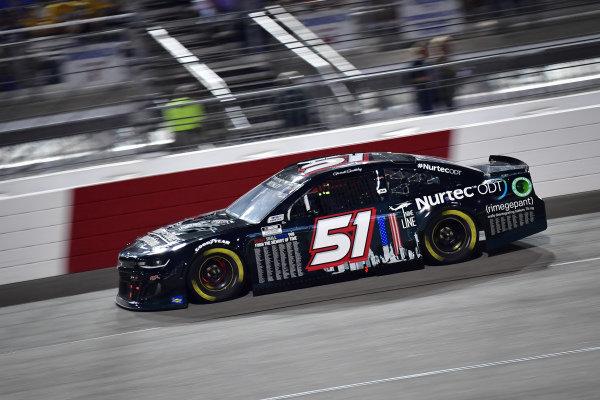 #51: Garrett Smithley, Petty Ware Racing, Chevrolet Camaro 9/11 Scheme