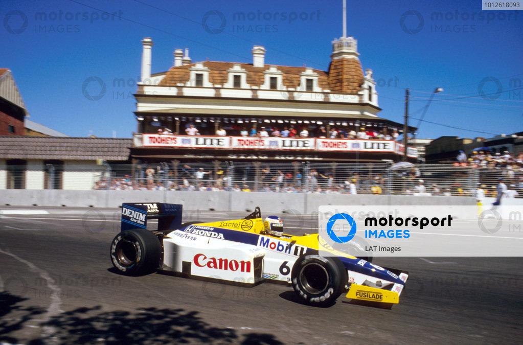 1985 Australian Grand Prix.