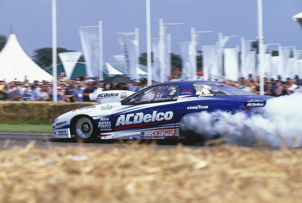 2002 Goodwood Festival of Speed Goodwood, England. 12th - 14th July 2002.Michael Malmangren, Pro-Stock Chevrolet Camaro.World Copyright: Jeff Bloxham/LAT Photographicref: 35mm Image A04
