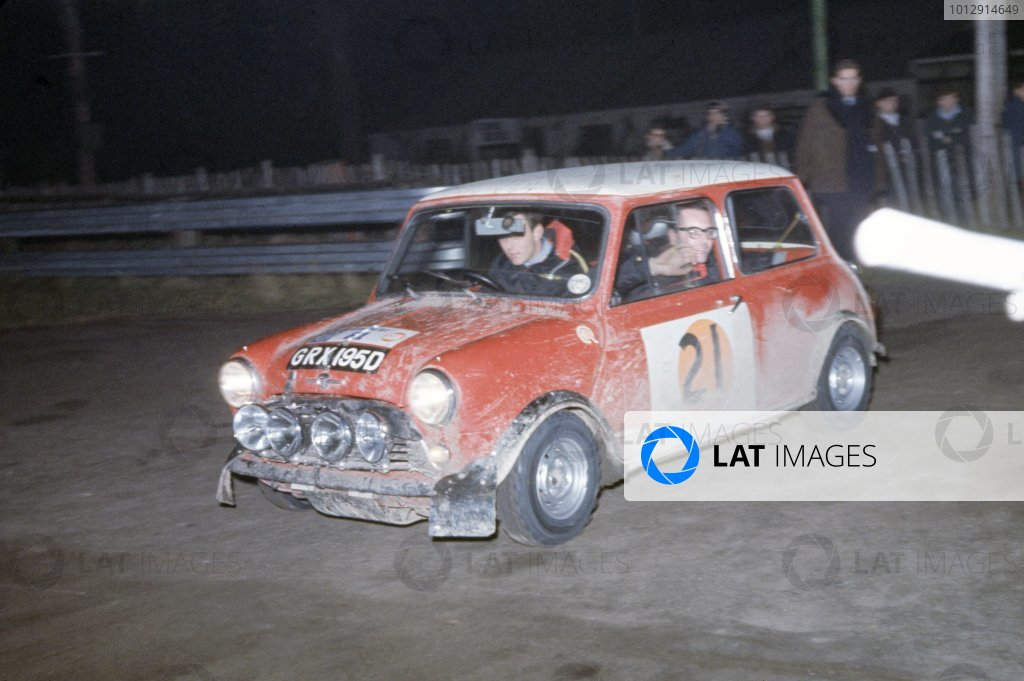 1966 World Rallying Photo