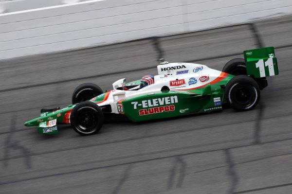 Tony Kanaan (BRA), Andretti Green Racing.IndyCar Series, Rd3, Road Runner Turbo 300, Kansas Speedway, Kansas, USA. 25-26 April 2009.