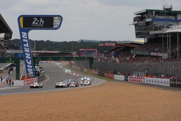 Le Mans 2018 Start