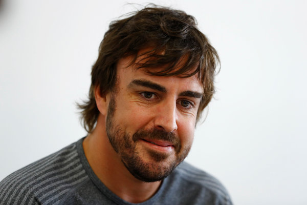 Baku City Circuit, Baku, Azerbaijan. Thursday 22 June 2017. Fernando Alonso, McLaren.  World Copyright: Steven Tee/LAT Images ref: Digital Image _R3I1371