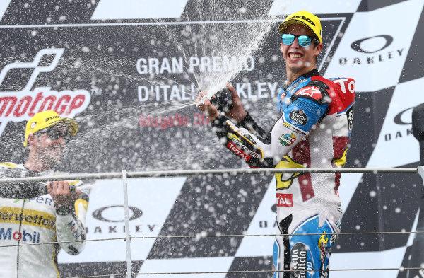 2017 Moto2 Championship - Round 6 Mugello, Italy Sunday 4 June 2017 third place Alex Marquez, Marc VDS World Copyright: Gold & Goose Photography/LAT Images ref: Digital Image 674776